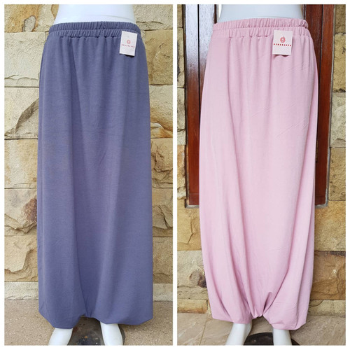 Foto Produk Rok celana jogger fashion olahraga wanita muslimah akhwat - dusty dari azharasya