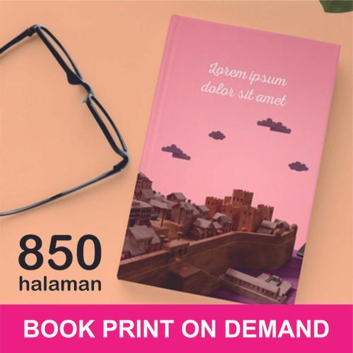Foto Produk Print Buku - Print Book on Demand - A5 - max 850 halaman - HVS 70, DOFF dari A1 Digital Print Offset