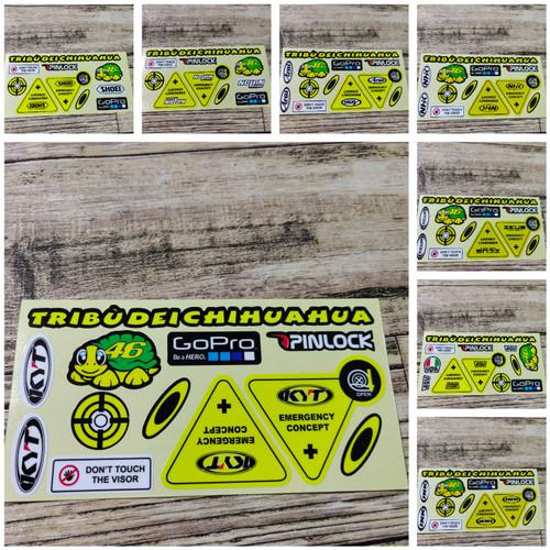 Foto Produk STICKER VISOR HELM - Gm dari Banay Sticker
