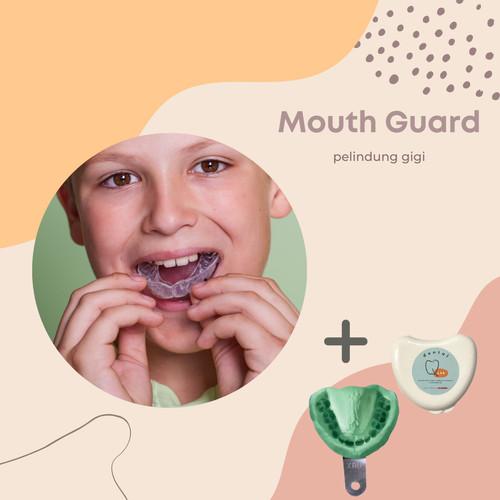 Foto Produk MOUTHGUARD - CUSTOM FIT MOUTHGUARD (DENTIST GRADE) dari Dental Q-Lab