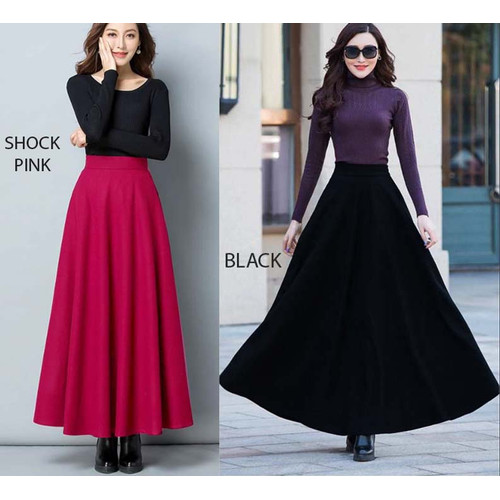 Foto Produk Maxi Flare Skirt dari Nina Fashion