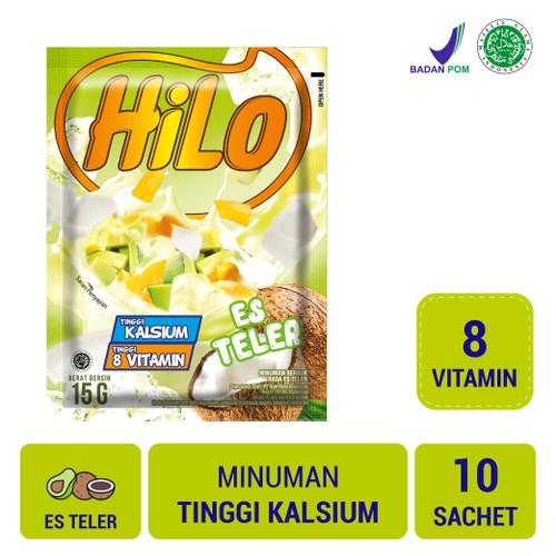Foto Produk HiLo Es Teler (10 Sch) dari NutriMart