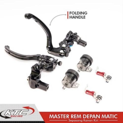 Foto Produk HANDLE MASTER REM SET 2 TABUNG KTC KANAN KIRI KTC RACING NMAX PCX ADV dari fc_storee