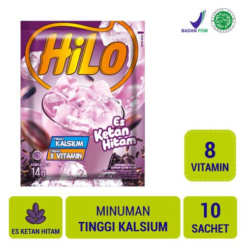 Foto Produk HiLo Es Ketan Hitam (10 Sch) dari NutriMart
