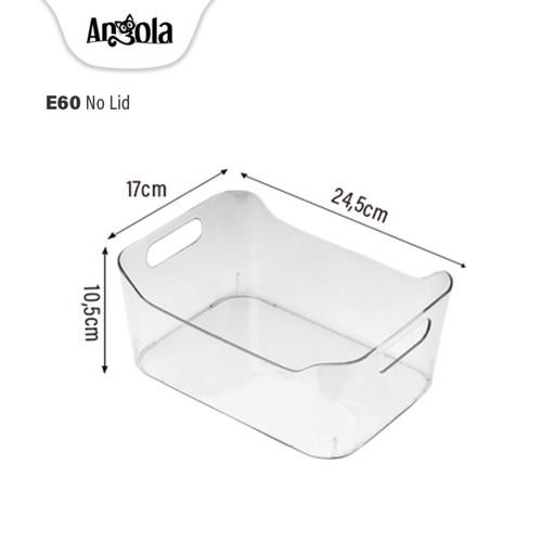 Foto Produk Kotak Kontainer Makanan Kulkas E60/E61/E62 Food Storage Box - E63-NoLid dari Angola Official Store