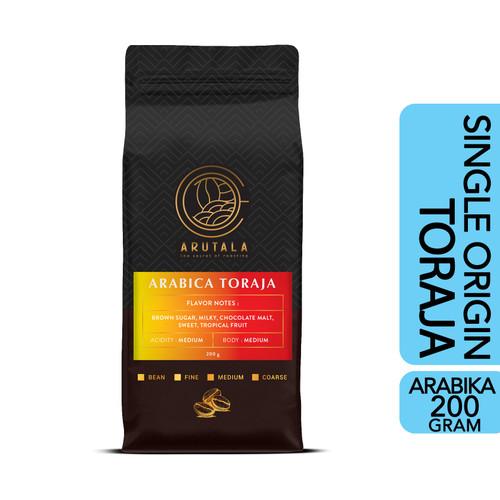 Foto Produk ARUTALA Kopi Arabika Toraja Sapan 200 gram - Biji dari Arutala Online Co.
