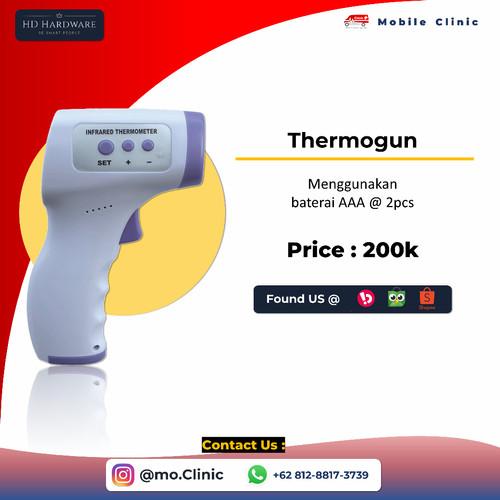 Foto Produk Thermometer Gun Wiselion Kualitas Bagus Rekomendasi Dokter dari HD Hardware