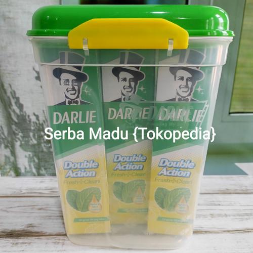 Foto Produk Darlie Toothpaste/Pasta Gigi/Odol 225gram Paket 3pcs (BONUS CONTAINER) dari Serba Madu