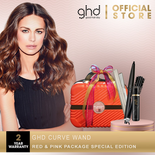 Foto Produk ghd curve wand Red & Pink Package Special Edition dari GHD Official Store