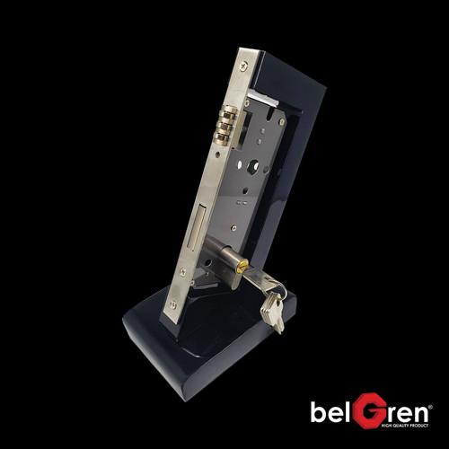 Foto Produk Body Pelor 3R Roller Pintu 2 Dua + Silinder 5 Anak Kunci 60mm Grandia dari Arga Anggala Sentosa