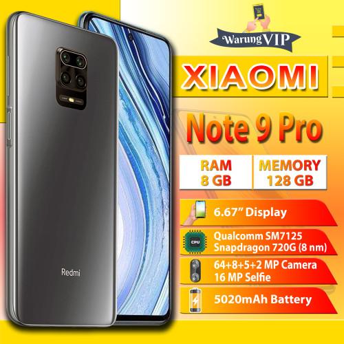 Foto Produk XIAOMI Note 9 Pro 8/128 RAM 8GB ROM 128GB Garansi Resmi Xiaomi - Abu-abu dari Warung VIP