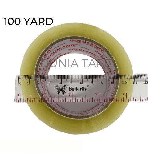 Foto Produk LAKBAN 2 INCH 100 YARD FULL KUALITAS DAIMARU BENING DAN COKLAT - Bening dari Dunia Tape
