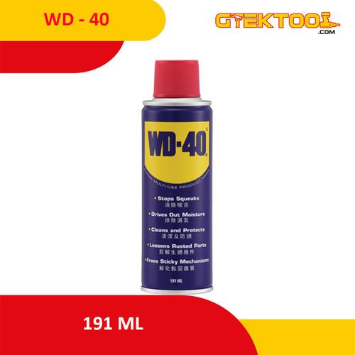 Foto Produk WD40 / WD 40 191ml Pelumas Anti Karat dari Gtek Tool