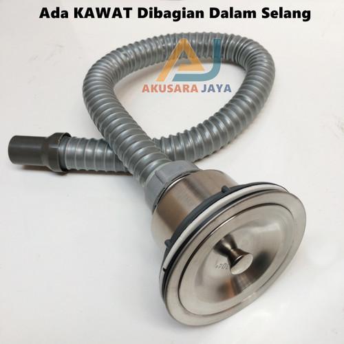Foto Produk Selang Pembuangan Bak cuci Piring + Afur STAINLESS dari Akusara Jaya