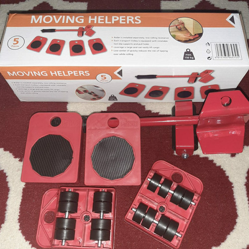 Foto Produk Moving Helpers Tenso Mover Alat Bantu Pemindah Barang Lemari Sofa Meja dari Galery Tools