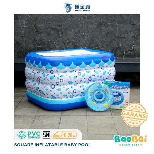 Foto Produk Kolam Renang Bayi Doctor Dolphin / Baby SPA / Kolam Renang Intex - Kolam + Pompa dari baobei baby shop