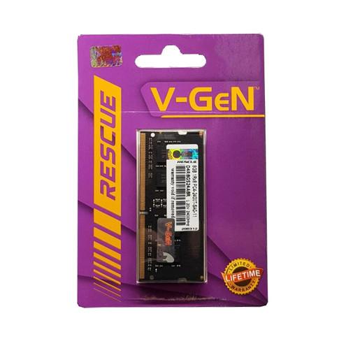 Foto Produk RAM DDR4 SODimm V-GeN RESCUE 8GB PC19200/2400Mhz (Memory Laptop VGEN) dari valkyre online shop