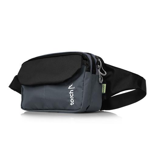 Foto Produk TORCH TAS PINGGANG WAIST BAG SHIKAGE BLACK dari TORCH