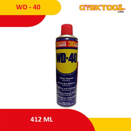 Foto Produk WD40 / WD 40 412ml Pelumas Anti Karat dari Gtek Tool