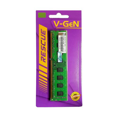 Foto Produk RAM DDR3 V-GeN RESCUE 8GB PC12800/1600Mhz LongDimm (Memory PC VGEN) - STANDART dari Intact Official Store