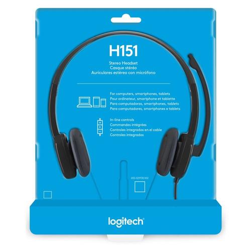 Foto Produk LOGITECH Stereo Headset H151 dari scanner bandung