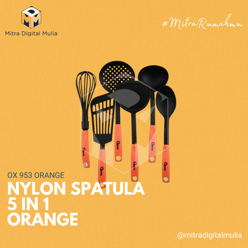 Foto Produk Oxone - OX 953 Kitchen Tools 6 Pcs Orange dari Mitra Digital Mulia