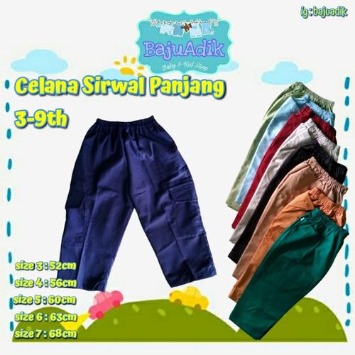 Foto Produk celana sirwal anak murah 3-9th - size 4 dari bajuadik