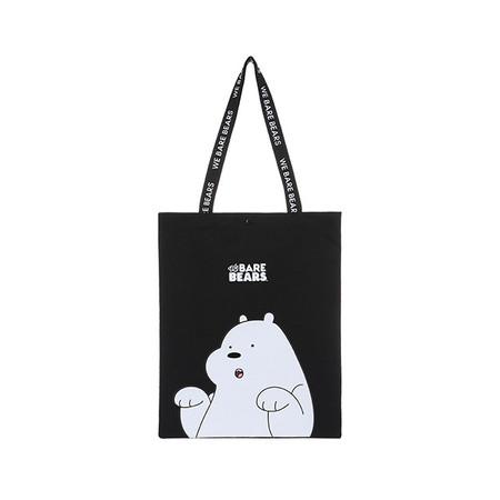 Foto Produk Miniso Official We Bare Bears Shopping Bag/Tas Belanja - Ice Bear dari Miniso Indonesia