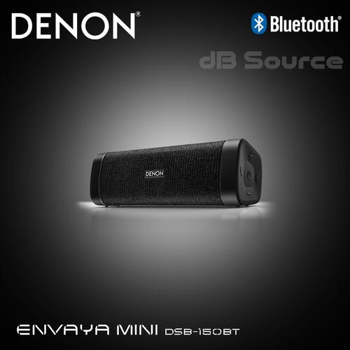 Foto Produk Denon Envaya Mini DSB 150BT Premium Portable Bluetooth Speaker - Hitam dari dB Source
