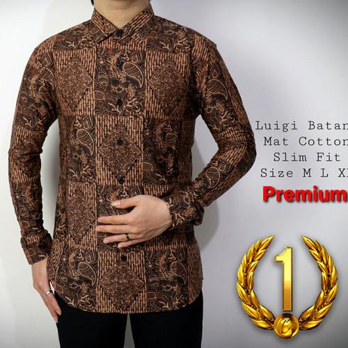Foto Produk KEMEJA SLIM FIT / FASHION PRIA / BATIK PRIA / SLIMFIT / ODZA / D331 dari BatikLovers Nusantara