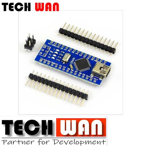 Foto Produk Arduino Nano V3 ATMEGA328P CH340 CH340G Board Clone dari Tech Wan Workshop