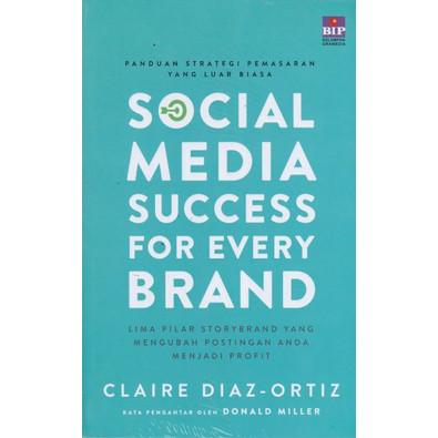 Foto Produk SOCIAL MEDIA SUCCESS FOR EVERY BRAND-BIPK -UR dari Toko Buku Uranus
