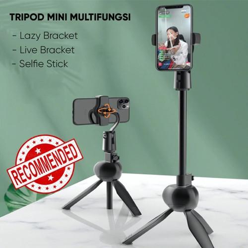 Foto Produk Tripod Mini Hp Kamera Multifungsi S8 Tripod Stand Tiktok Livestream dari TokoUsbcom