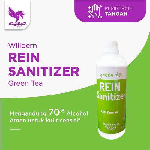 Foto Produk Hand Sanitizer Willbern Rein Sanitizer Anti Bakteri volume 1 Liter dari WillbernOfficial