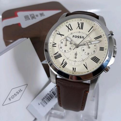 Foto Produk Fossil FS4735 silver 45mm original dari TIMESCORNER REAL