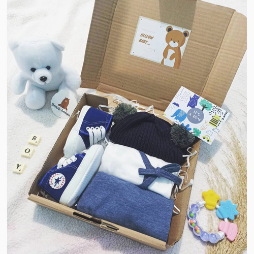 Foto Produk Hampers baby boy kado bayi laki kimono - 0-3bulan dari Rumahkadoku__