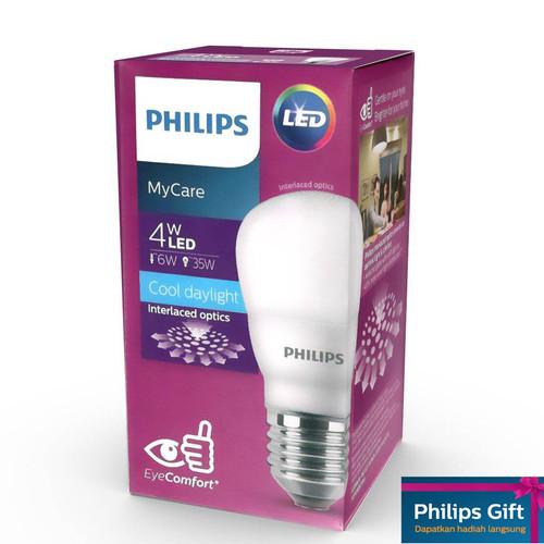 Foto Produk Philips LEDBulb 4W E27 APR 6500K 230V Putih dari Philips Lighting ID