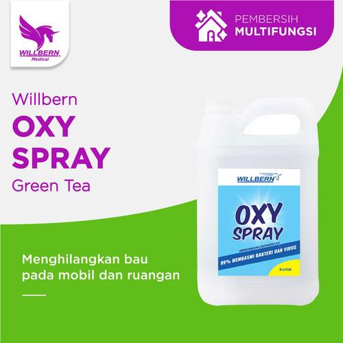 Foto Produk Disinfektan Willberm Oxy Spray untuk semua surface 5 Liter dari WillbernOfficial