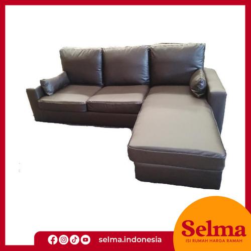 Foto Produk SELMA SOFA CORNER LEANDER BROWN dari SELMA