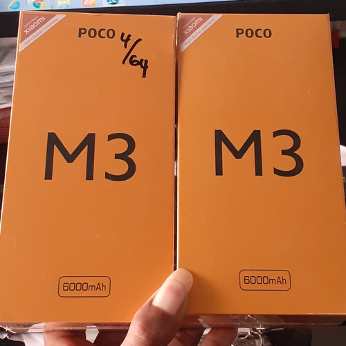 Foto Produk Poco M3 - Kuning, Poco M3 4/64gb dari dhafaphone