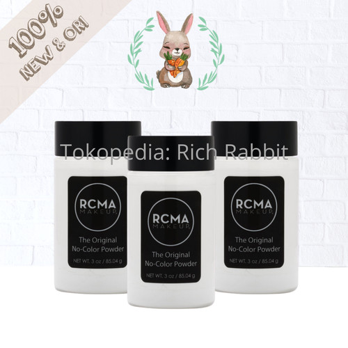 Foto Produk RCMA Makeup No Color Powder 3 oz Full Size dari Rich Rabbit