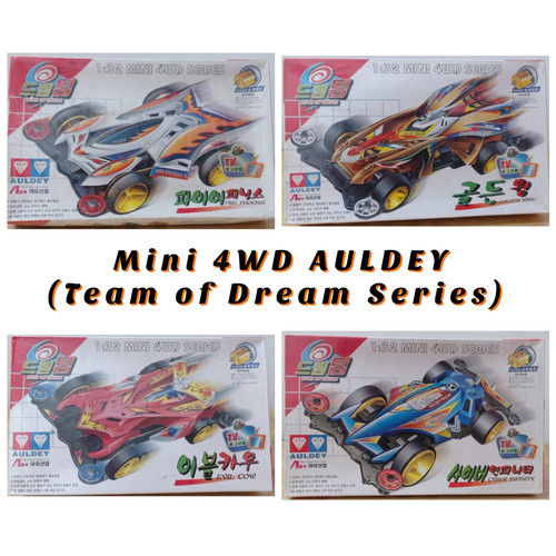 Foto Produk Tamiya Mini 4WD AULDEY ( Team of Dream Korea Series ) dari Pandu Marindi