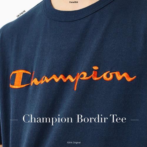 Foto Produk Champion Bordir tee Original BNIP - Putih, M dari CeneOutfit