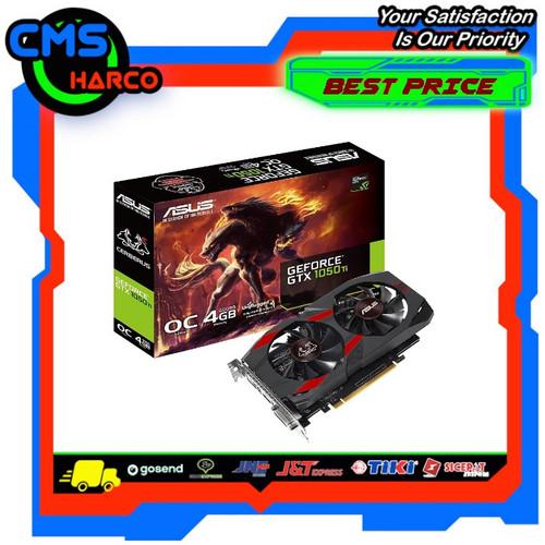Foto Produk VGA ASUS GTX 1050 TI OC CERBERUS 4GB DDR5 dari CMS Harco Online