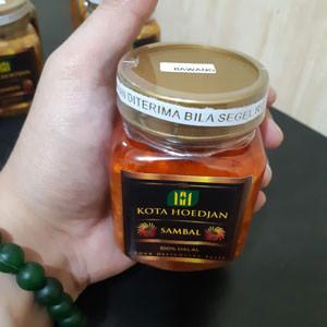 Foto Produk SAMBAL KOTA HOEDJAN - 12 VARIAN SAMBAL (TOP BEST SELLER!!!) - S.BAWANG dari Bogorbee