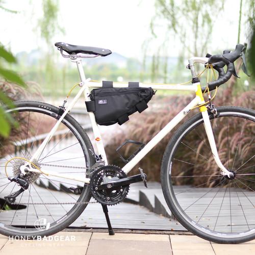 Foto Produk HONEYBADGEAR Frame Sling Bag Tas Sepeda - Hitam dari Honey Badgear