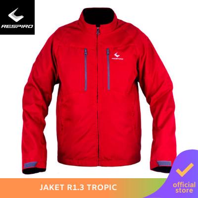 Foto Produk Respiro Tropic | Jaket Motor Pria Windproof Anti Angin - Merah, XL dari Respiro Official Store