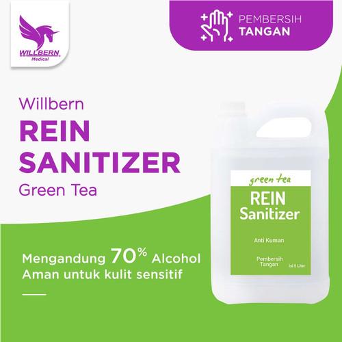 Foto Produk Hand Sanitizer Willbern Rein Sanitizer Anti Bakteri volume 5 Liter dari WillbernOfficial