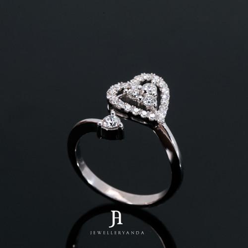 Foto Produk Amare Ring - Diamond Ring - Jewelleryanda - 10 dari jewelleryAnda_
