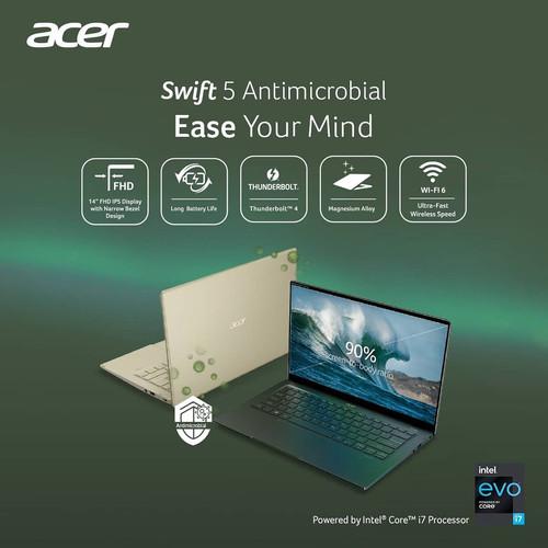 Foto Produk Acer Swift 5 Antimicrobial (SF514-54GT-797T) dari ITGARAGEID